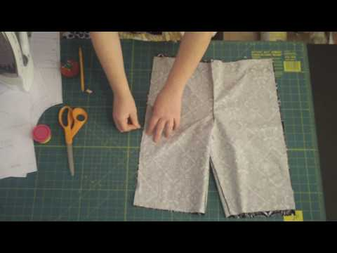 Learn to Sew 101 - Assembling the Pant Pieces Part II (Sewing Side Seams) Lesson #9