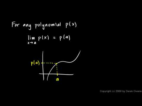Calculus 2.4b - The Limit Theorems