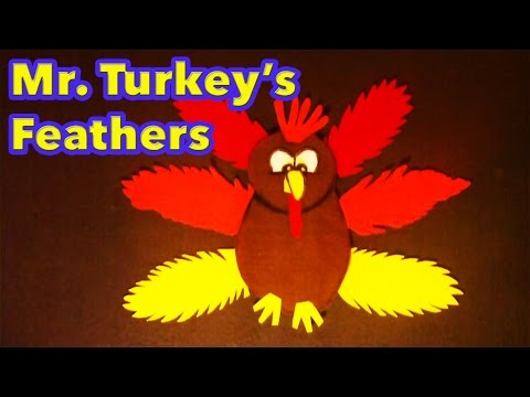 Thanksgiving songs for children - Mr Turkey's Feathers - Lttlestorybug