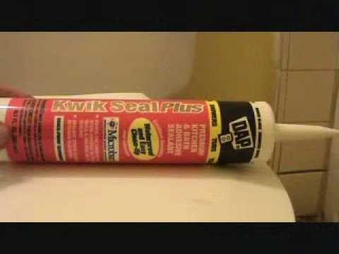Caulking in a toilet: what type of caulking should I use?