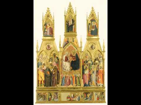 Polyptych with Coronation of the Virgin and Saints, Cenni di Francesco di Ser Cenni