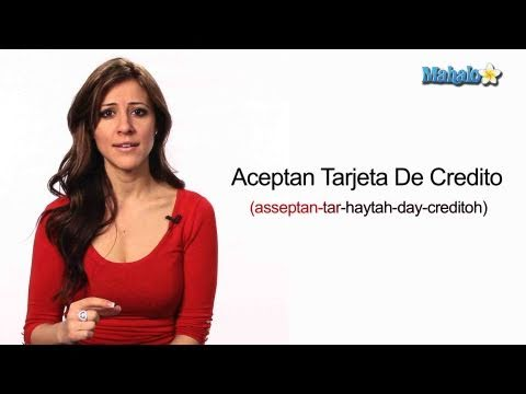 "How to Say ""Do You Accept Credit Card"" in Spanish"