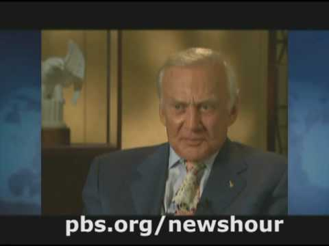 THE NEWSHOUR | Moon Landing Anniversary Renews Debate | PBS