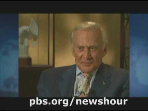 THE NEWSHOUR | Moon Landing Anniversary Renews Debate | PBS