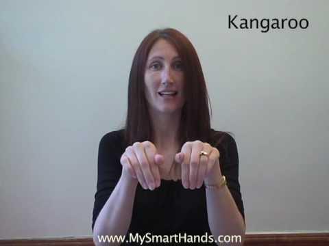 kangaroo - ASL sign for kangaroo
