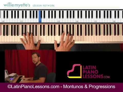 Montunos & Progressions - Salsa Piano Lessons [ex. 2]