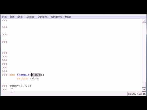 Python Programming Tutorial - 31 - Tuples as Parameters