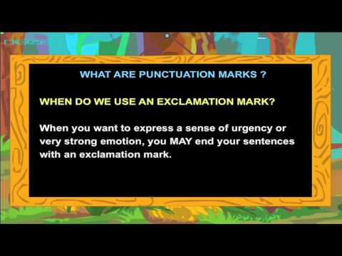 Learn Punctuation Marks in English with Gangu !