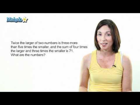 Word Problem: Identifying Integers (Level 3)