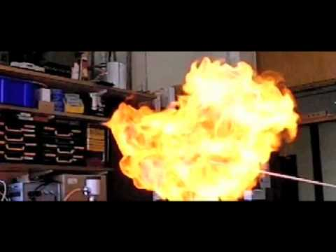 Hydrogen Balloon Explosion (camera test)