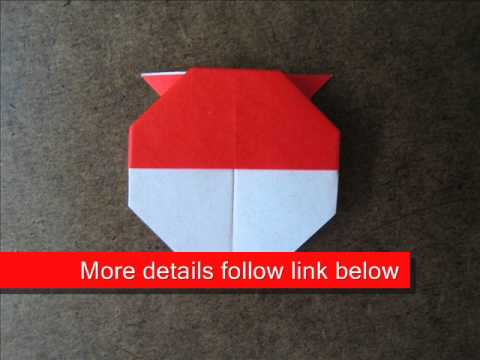 How to Fold Origami Little Bee - OrigamiInstruction.com