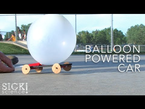 Balloon Powered Car - Sick Science! #092