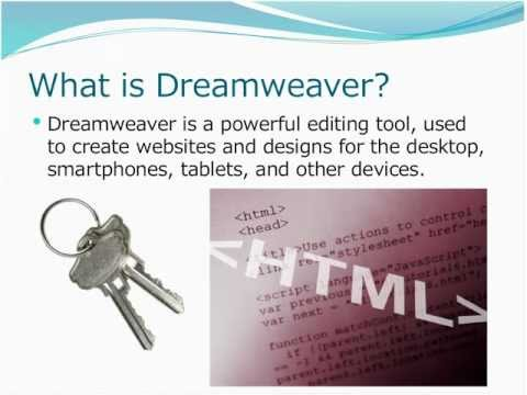 Dreamweaver Tutorial For Beginners: Recorded Webinar
