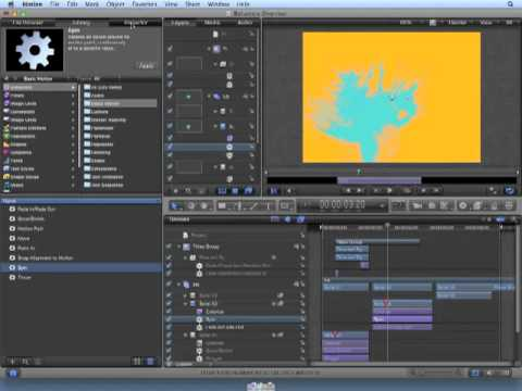Apple Motion 5 Tutorial - How to Edit and Modify Behaviors
