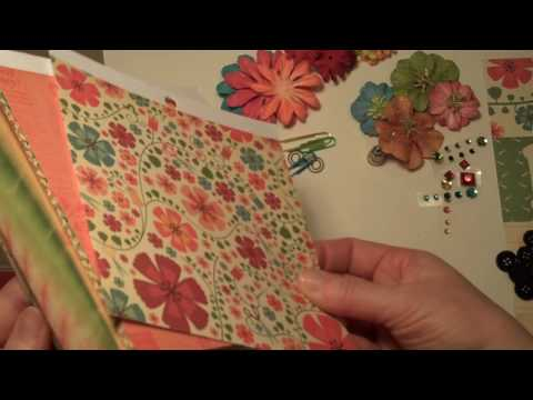 Retro Sewing Flip Envelope Mini Album Kit