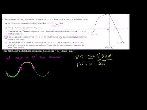 2011 Calculus AB Free Response #4c