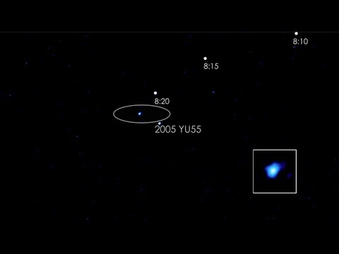 NASA | Swift Captures Flyby of Asteroid 2005 YU55
