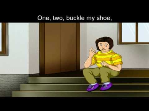 12 Buckle My Shoe Nursery Rhyme Karaoke