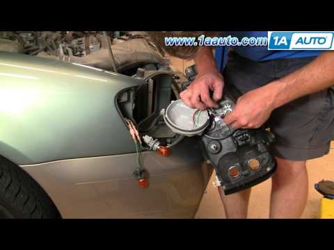 How To Install Replace Headlight and Bulb Subaru Outback 01-04 1AAuto.com