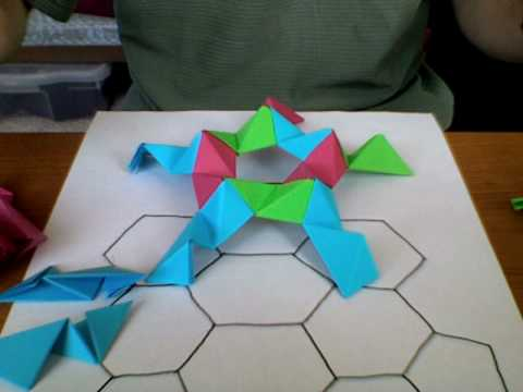 Making Large Origami Buckyballs, Part 1