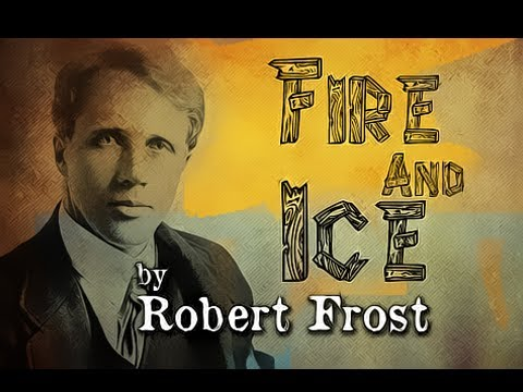 Pearls Of Wisdom - Fire And Ice by Robert Frost - Poetry Reading