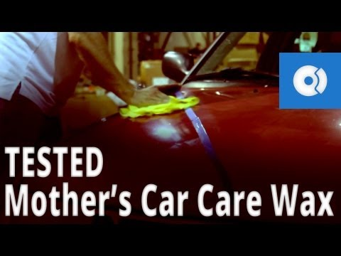 Mothers Car Care Wax Tested on a Dull Car - FCP