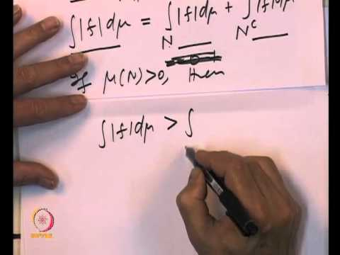 Mod-06 Lec-20 Properties of Integral functions & Dominated Convergence Theorem