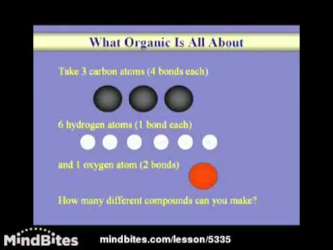 Organic Chemistry Lesson: Intro to Organic Chem