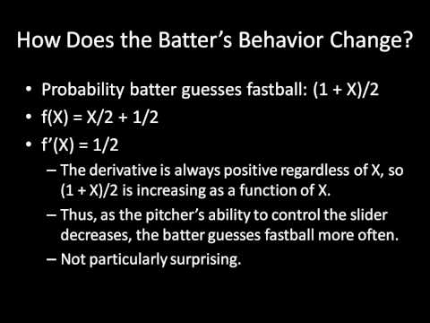 "Game Theory 101: Comparative Statics of ""Breaking Balls"""