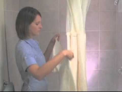 How to Install a Hookless Shower Curtain - The Home Depot