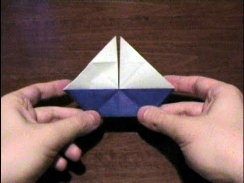 How to make an Origami Sailboat with white sails (Multiform - Form 9) ...for all (50)