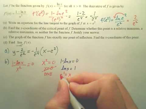 AP 2008 Q6 problems a and b