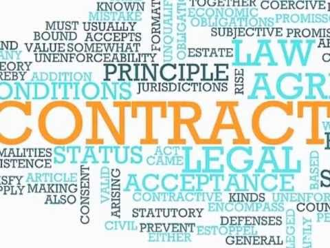 VV 26 English Legal Vocabulary - Contract Law (Part 1)