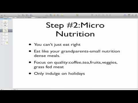 Anti Aging Secrets Nutrition Plan
