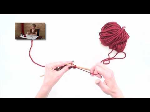technique 4 - Purl Stitch