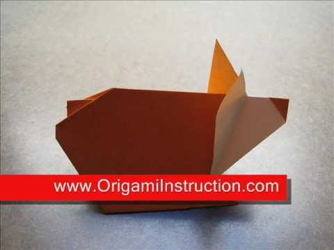 How to Fold Origami Hamster - OrigamiInstruction.com