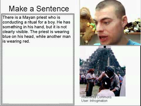 Learn English Make a Sentence and Pronunciation Lesson 52: Mayan Priest