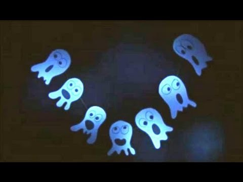 How to make a Ghost Streamers - Arts and Crafts