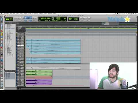 Selecting  Regions and Spaces - Pro Tools 9