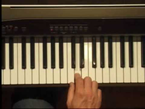 Piano Lesson - How to Play the E Penatonic Scale