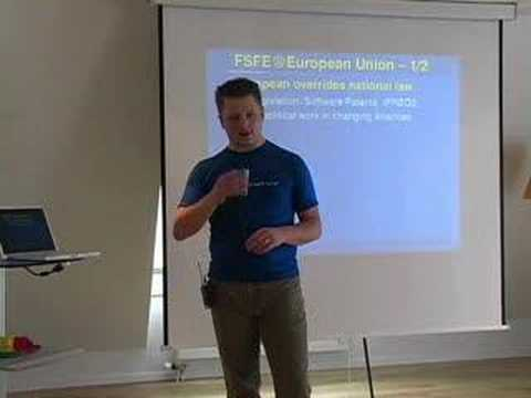 The Free Software Foundation in Europe