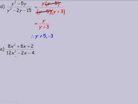 Simplifying Rational Expressions Part 2