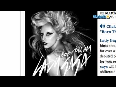"Lady Gaga Releases ""Born This Way"""