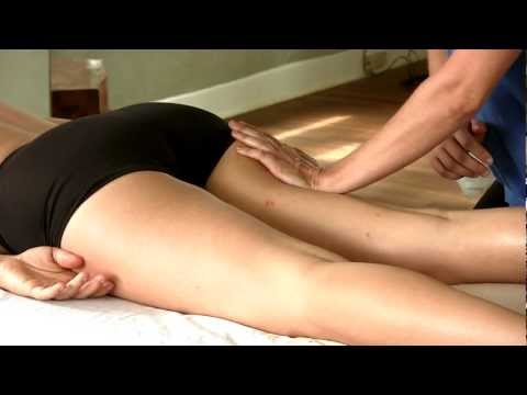 HD How To Massage Thighs & Hamstrings Swedish Massage Therapy | Jen Hilman Austin Texas