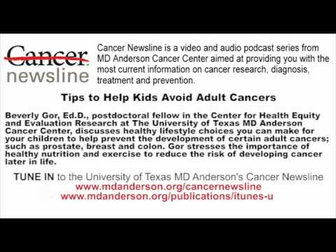 Tips to Help Kids Avoid Adult Cancers