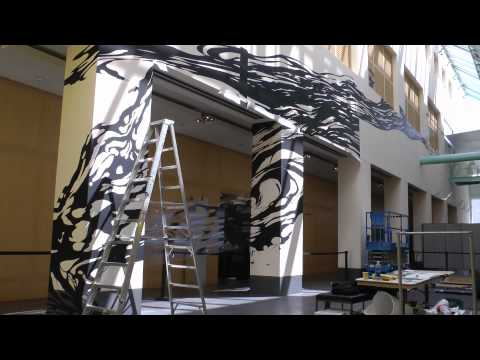 Time-lapse: Sun K. Kwak's Untying Space_Asian Art Museum, SF