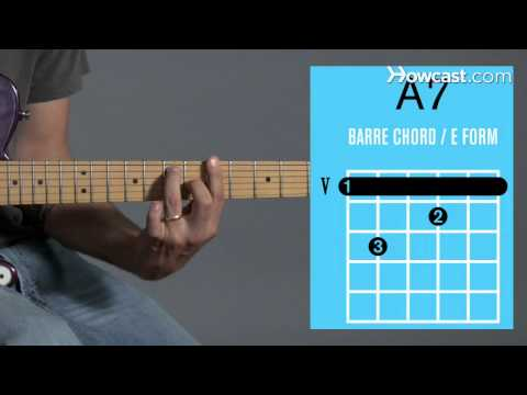 How to Play Guitar: Beginners / Barre Chords: A7
