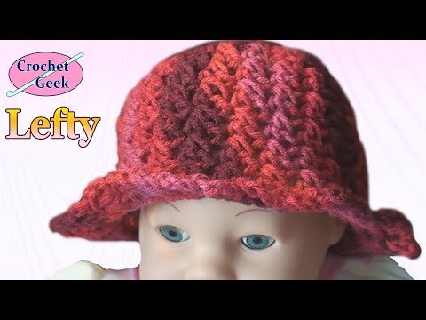 Left Hand Crochet - Toddler Brim Cap - Cypress LHV