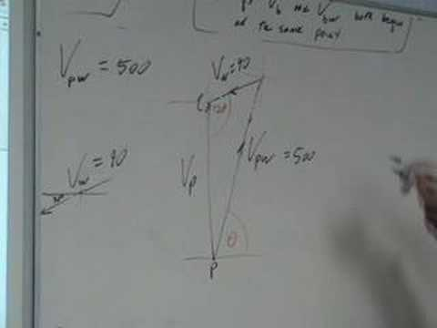 Applied Maths Relative Velocity 1992