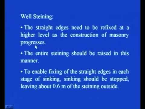 Mod-2 Lec-19 Well Foundations-3
